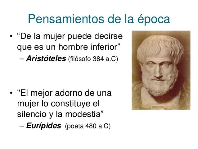 Aristóteles-Eurípides-mujer